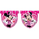 Amscan Disney Minnie Mouse Banner Flag