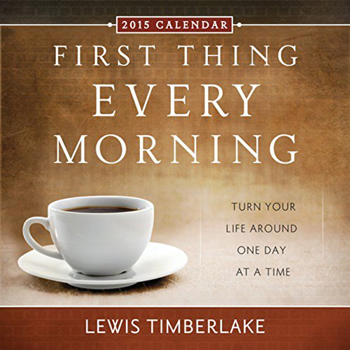 2015 First Thing Every Morning Boxed Calendar