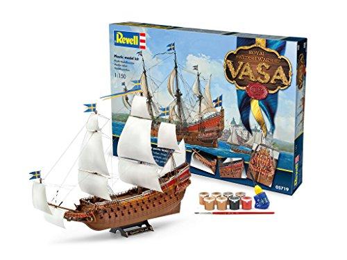 Revell-05719-Modellbausatz-Geschenkset-Vasa-im-Mastab-1150
