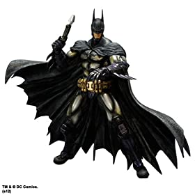 BATMAN: ARKHAM ASYLUM(TM) PLAY ARTS�� -KAI- BATMAN(TM) ARMORED �y�o�b�g�}��(TM) �A�[�}�[�h�z