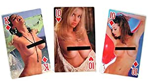 Nude Female Models Card Deck - 54 Coated Playing Cards