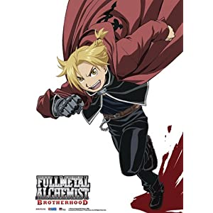Fullmetal Alchemist Brotherhood: Ed Elric Anime Wall Scroll