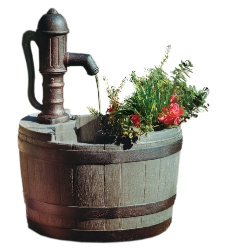 Little Giant 14940294 Whiskey Barrel Planter