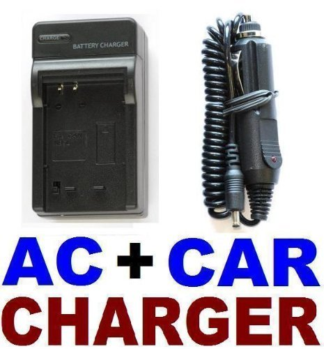 Canon NB-5L AC Wall Battery Charger + In-Car Adapter