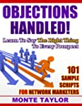 Objections Handled! 101 Sample Script...