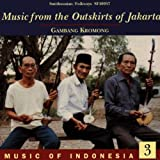 Indonesia V3 -Music from Outskirts of Jakarta Various