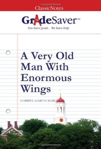 "a very old man with enormous wings thesis Read ""a very old man with enormous wings"" by have a strong thesis statement at the end of your a very old man with enormous wings, writing homework."