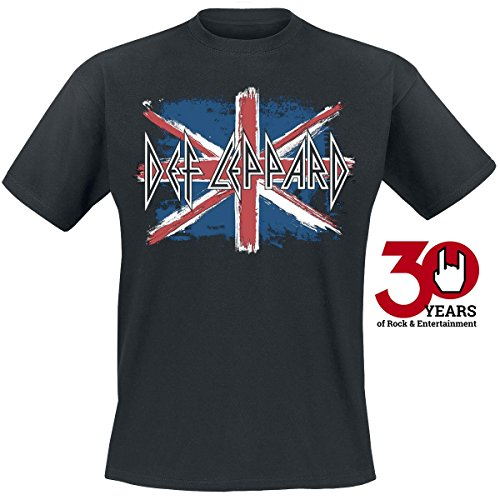 Def Leppard Flag T-Shirt nero S