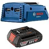 Bosch GAA18V-24N 18V Portable Power Adapter with 2.0 AH battery