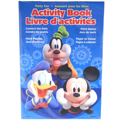 Mickey Mouse Clubhouse Activity Books