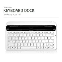 Samsung ECR-K14AWEGSTA Galaxy Keyboard Dock for the 10.1 Galaxy Tab and Galaxy Note