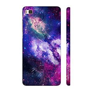 Enthopia Designer Hardshell Case Unbelievable Sky Back Cover for Huawei P8
