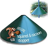 """Deluxe Squirrel-Raccoon Stopper 18""""-""""Extra Slip Coating""""- No Tool Install with our Newest Design - Wrap Around Stopper. Solid Steel - by iPrimio"""