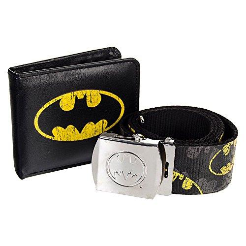 Cintura & Portafoglio In Unica Confezione Batman