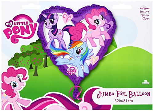 My Little Pony Jumbo Heart Mylar Balloon - 1