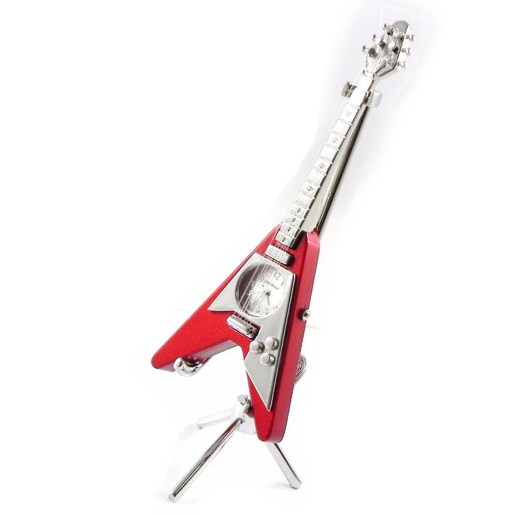 Clock-design 'Guitare Electrique' red. günstig