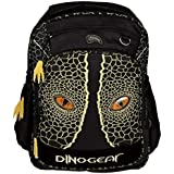 Dinosoles 3D Double Eye Dinosaur School Backpack With Blinking Lighted Eyes
