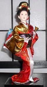 """9"""" Japanese GEISHA Oriental Doll DOL9011-9"""