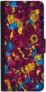 Snoogg Digital Floral Kenziedesigner Protective Flip Case Cover For Samsung G...