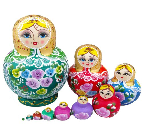 Russian Wooden Toys front-979532