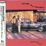 echange, troc Elvin/Mccoy Tyner Jones - Love & Peace