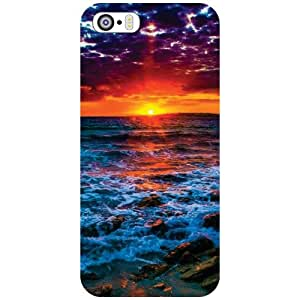 Apple iPhone 5S Back Cover - Love Nature Designer Cases