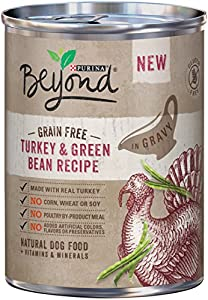 Purina Beyond Wet Dog Food, Grain Free Turkey & Green Bean Recipe, 12.5-Ounce Can, Pack of 12