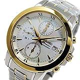 セイコー プルミエ クロノ クオーツ レディース 腕時計 SNDV70P1 ホワイトシェル [並行輸入品]