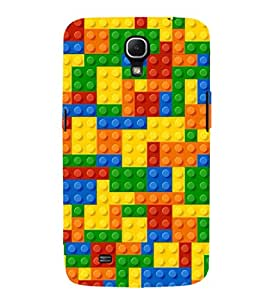 EPICCASE Blocks Mobile Back Case Cover For Samsung Galaxy Mega 6.3 I 9200 (Designer Case)