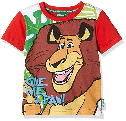 dreamworks-t-shirt-madagascar-dreamworks-camiseta-para-ninos-rojo-7