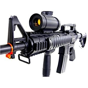 M4 M16 Airsoft Assault Rifle Double Eagle M83A2 Fully Automatic Electric Gun (AEG) by Double Eagle