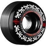 Bones Wheels Rat Pack Skateboard Wheels (52-mm, Black) by Bones Wheels