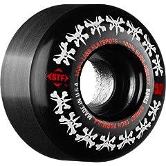 Buy Bones Wheels Rat Pack Skateboard Wheels (52-mm, Black) by Bones Wheels