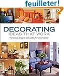 Decorating Ideas That Work: Creative...