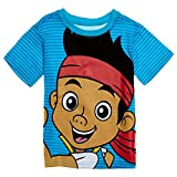 Disney Baby Boys' Jake and The Neverland Pirate Stripe T-Shirt