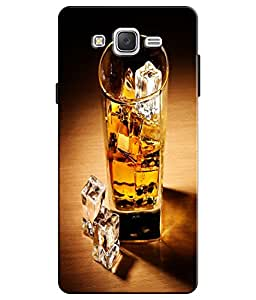 EU4IA Drink And Ice Pattern MATTE FINISH 3D Back Cover Case For ON5 PRO - D113
