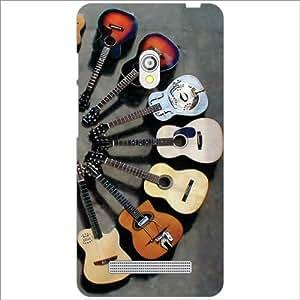 Asus Zenfone 5 A501CG Back Cover - Guitar Designer Cases