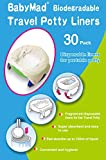 Orinal de viaje Bolsas desechables (30unidades)-Eco Friendly biodegradables.-Uso de maletero con potette Plus, Babyway-y otros líderes potties