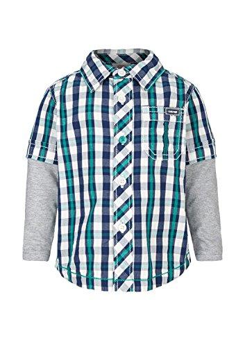 s.Oliver Baby - Jungen (0-24 Monate) Hemd, Kariert, Gr. 62, blau (blue check 58N5)
