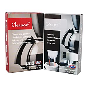 Cleancaf and Dezcal Combination Pack from Urnex