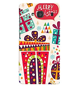 printtech Merry Christmas Back Case Cover for Xiaomi Redmi 2S::Xiaomi Redmi 2::Xiaomi Redmi 2 Prime