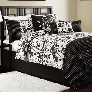 Shadow Vine 7-Piece Comforter Set Size: King