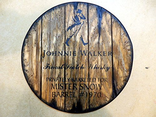 johnnie-walker-personalized-whiskey-barrel-top-handpainted-artwork-and-your-additional-message-on-a-