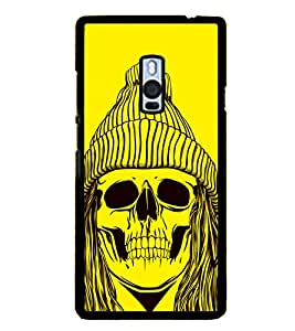 Skull with a Cap 2D Hard Polycarbonate Designer Back Case Cover for OnePlus 2 :: OnePlus Two :: One +2