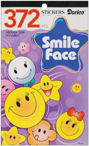Darice Smiley Face Stickers