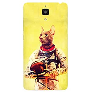 Back cover for OnePlus Three Astronut Cat