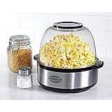 Nostalgia SP660SS 6-Quart Stainless Steel Stir Popper Popcorn Maker