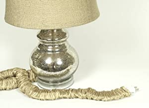 wheat silk lamp cord cover 9 ft long discount shipping with 2 c. Black Bedroom Furniture Sets. Home Design Ideas