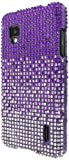 Empire Diamante Bling Case for Sprint LG Optimus G LS970/E975 - Light Purple Fade