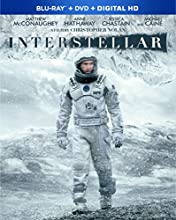 Interstellar [Blu-Ray+ DVD+ HD]